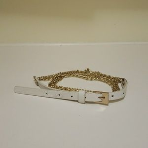 Accessories - Belt with gold chains